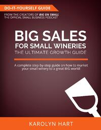 Big Sales for Small Wineries - The Ultimate Do-It-Yourself Growth Guide eBook Cover