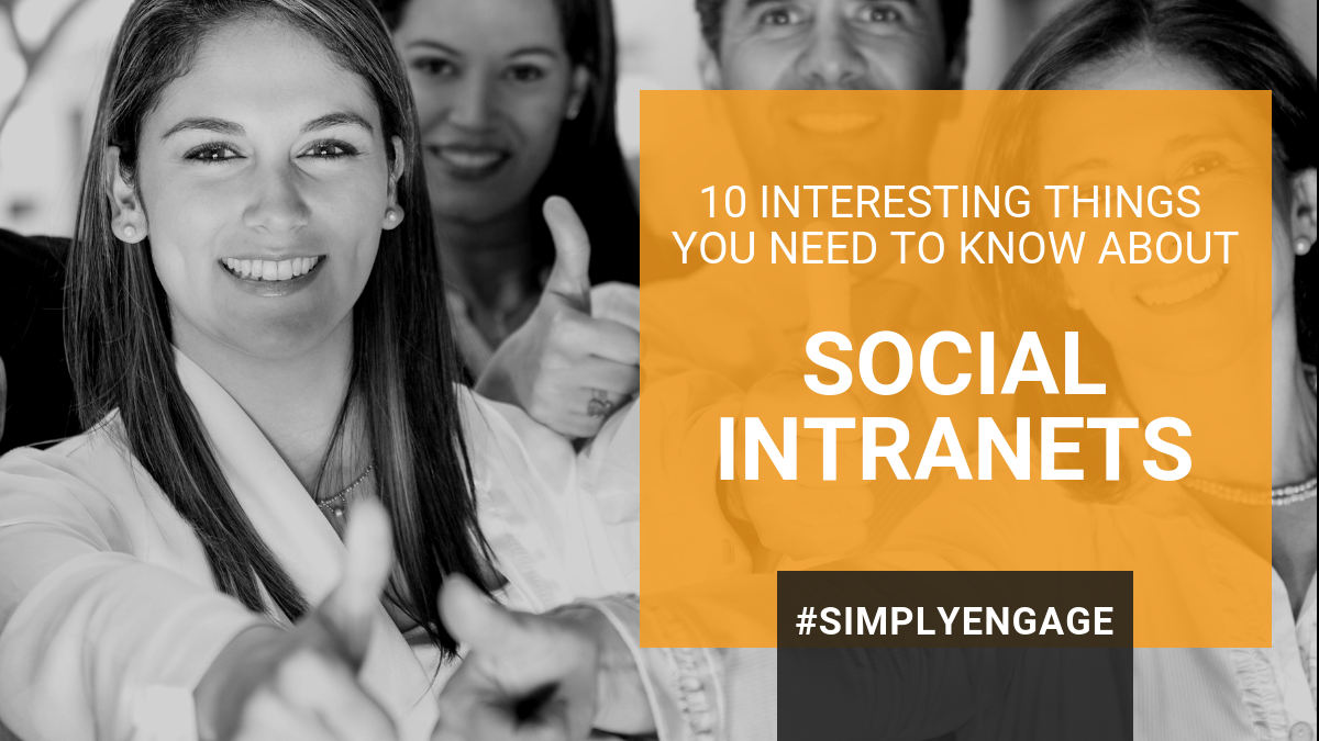10 Interesting Things You Need to Know About Social Intranets | InspireHUB