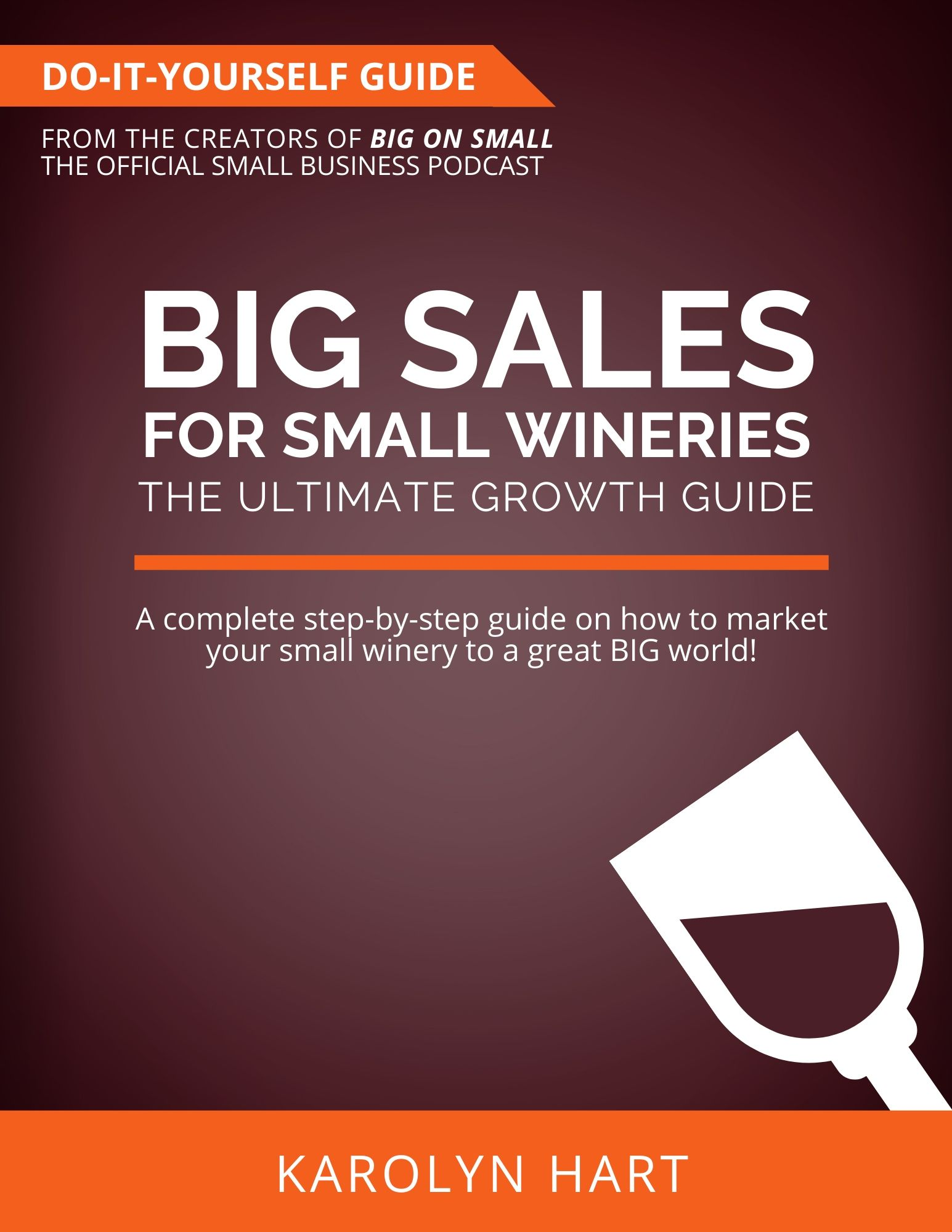 Big Sales for Small Wineries: The Ultimate Do-It-Yourself Growth Guide
