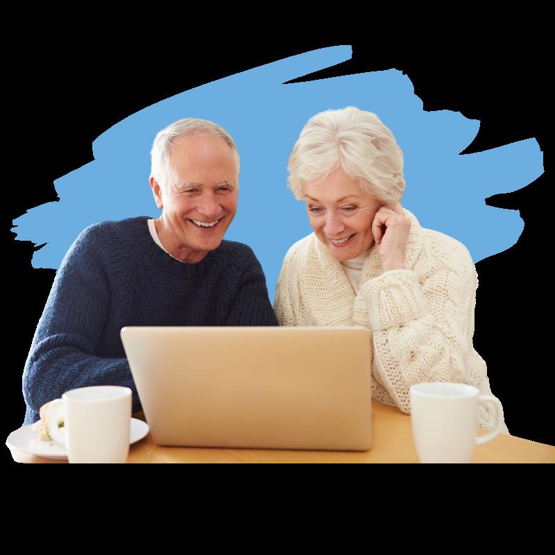 InspireHUB  - Senior Living Landing Page