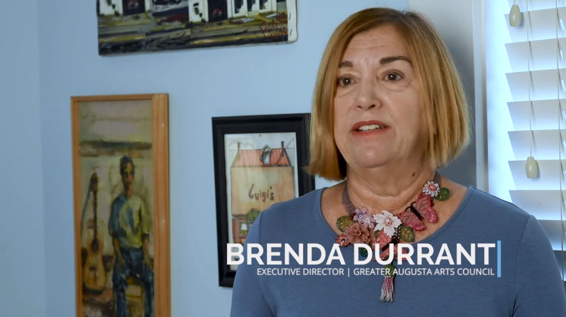 Brenda Durrant, the Executive Director of the Greater Augusta Arts Council